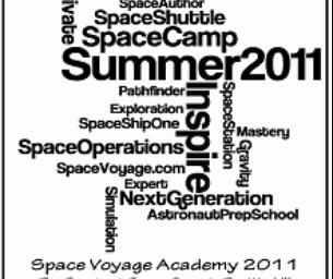 Space Voyage Summer Academy