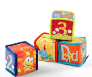 Grab & Stack Blocks from Bright Starts