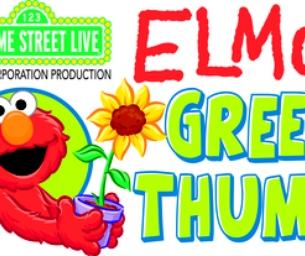 Elmo's Green Thumb Contest Winner!