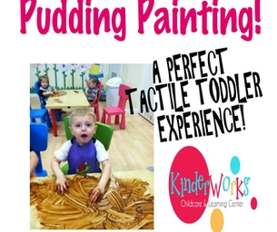 PUDDING PAINTING!