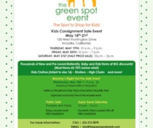The Green Spot Event Giveaway: 2 pre-sale tickets!