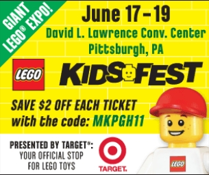 LEGO® KIDS FEST STOPS IN PITTSBURGH!