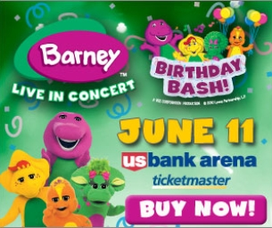 Get 25% off tickets to Barney Live