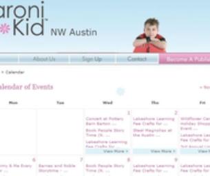 Austin Event Calendar (Austin Kid Events)