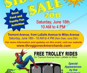 Throgs Neck Sidewalk Sale