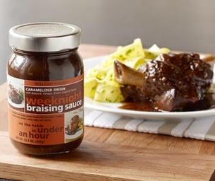 From a Jar:  Williams-Sonoma Braising Sauce
