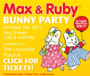 Max & Ruby Bunny Party Ticket Giveaway!