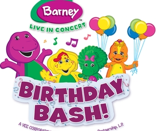 Barney LIVE!  Birthday Bash Family 4-Pack GIVEAWAY