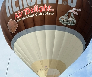 Fly Me (Over) a River: Hershey's Air Delight