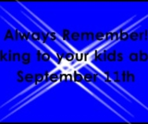 Always Remember! Talking to your Kids about 9/11