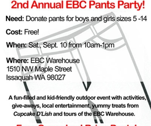 Pants Party at Eastside Baby Corner