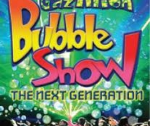 Win a Family 4-Pack to the Gazillion Bubble Show..