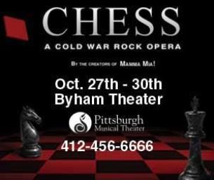 CHESS: A Cold War Rock Opera!
