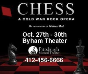CHESS: A Cold War Rock Opera!