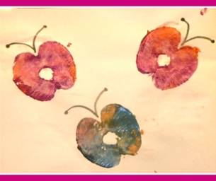 Simple Apple Craft Butterflies