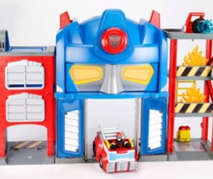 Playskool Heroes Electronic Fire Station Prime