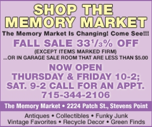 Warm Welcome to The Memory Market!