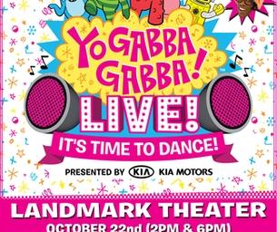 YO GABBA GABBA- GIVEAWAY GALA!! :)