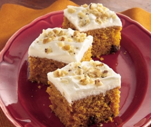Recipe: Pumpkin Spice Bars
