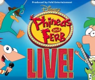 Win Phineas and Ferb  Live Tickets- October 29th