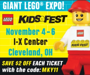 LEGO® KIDS FEST in  Cleveland  - Nov 4-6