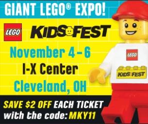 LEGO® KIDS FEST in  Cleveland  - Nov 4-6