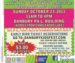 Coupon for Kids Fest in Danbury