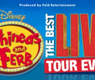 Phineas and Ferb Live Ticket Giveaway!