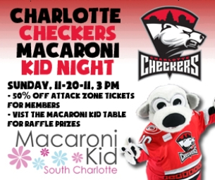 Macaroni Kid Night with the Checkers!