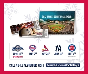 Atlanta Braves Holiday Gift Packs Now On Sale