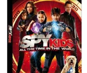 Spy Kids: All The Time In The World DVD