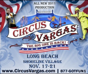 Circus Vargas is coming to Long Beach!