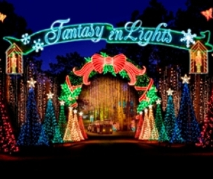 Experience Calloway Gardens Fantasy in Lights