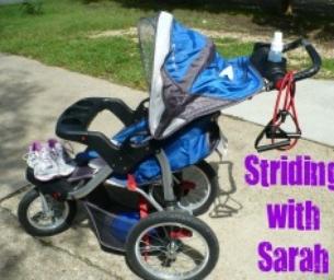 Striding with Sarah