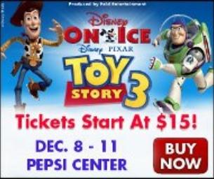 Disney On Ice presents Disney Pixar's Toy Story 3!