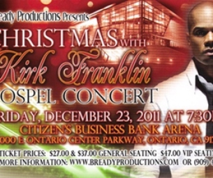 CHRISTMAS WITH KIRK FRANKLIN GOSPEL CONCERT
