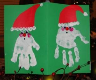 Macaroni Made ~ Santa Cards