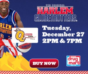 Harlem Globetrotters, 12/27 at Quicken Loans Arena