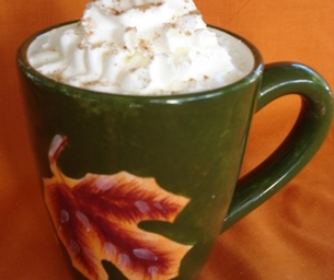 Hot Pumpkin Spice Drink