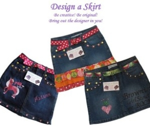 This Week's Macaroni Deal - Design a Skirt!