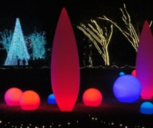 "WIN 2 Tickets to ""Garden Lights, Holiday Nights"""