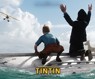 The Adventures of Tintin Hits Theatres Wednesday