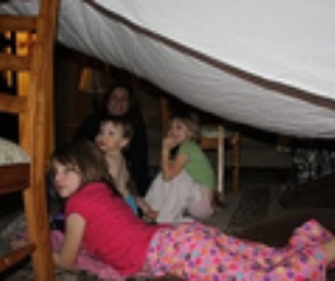 New Year's Eve Kid Camp Out