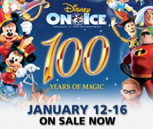 Disney on Ice 100 Years of Magic at Harbor Yard