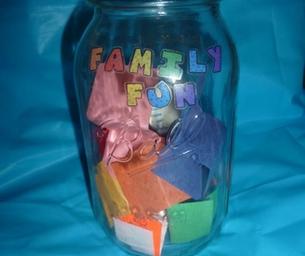 Family Fun Jar