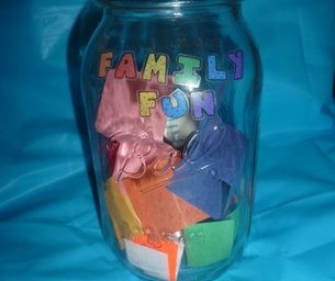 Family Fun Jar