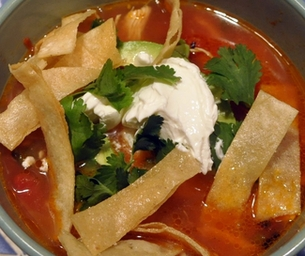 Lulu's Chicken Tortilla Soup