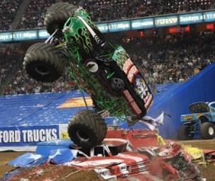 Monster Truck Jam Ticket Giveaway