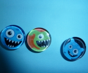 Glass Magnets Craft--Craft for Kids
