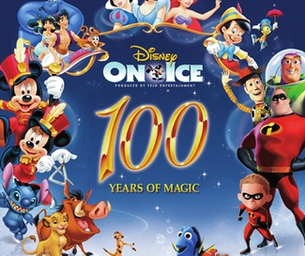 Disney On Ice 100 Years of Magic!